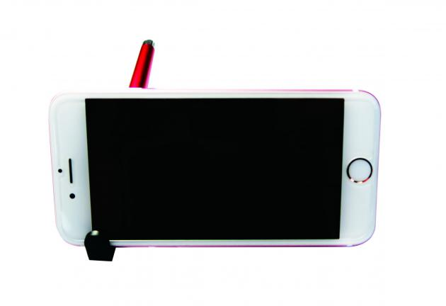 CM-672 伸縮式手機架電容筆(國旗筆) 2