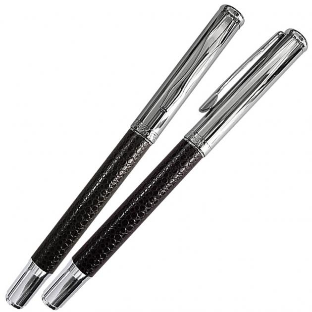 NO.16 黑皮革鋼珠筆 1